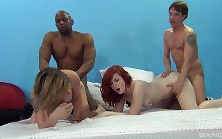 Emma Snow and her girlfriends organize one Pandemonium of a groupie