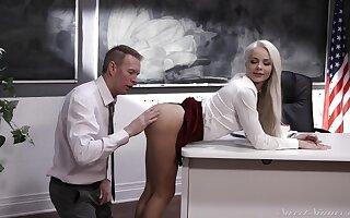 Elsa Jean - Student Bobtail Hot Teen Sex