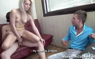 Katherine in Cuckold punishment for unfaithful bf