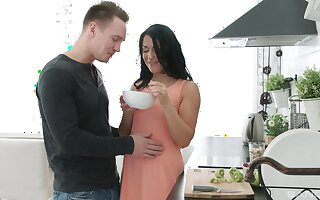 Wonderful sexual morning undergo with his new girl