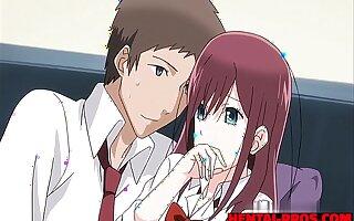 Pretty Hentai School Girl Banged Wits Her Teacher