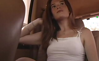 Small knocker amateur trollop mckenzie blasted on her face