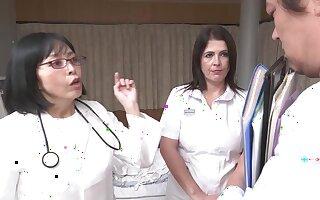 Montse Swinger Nurse-Blowjob, Handjob - Montse swinger