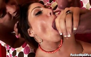 Massive Monster Dicks are spraying large cumshots all intemperance