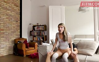 Russian tiny teen Gina Gerson Behind Dramatize expunge Scenes video