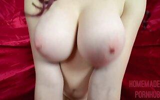 Dorm Room Shafting and Cum On My Big Tits