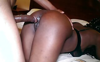 Passion, Pain and Dripping Wet Creamy Squirting Ebony Teen