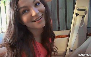 POV video of bush-league girlfriend Nina Turk getting fucked good