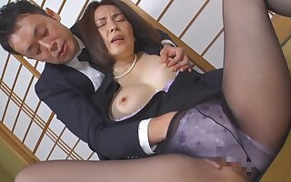 Japanese horn-mad mommy amazing porn clip